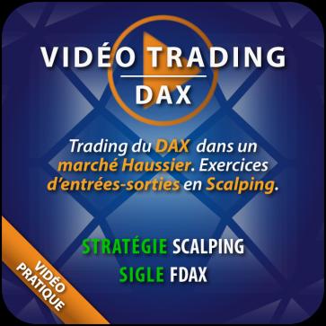 Vidéo Trading du Dax, Visibilité des résistances au Carnet d'ordre