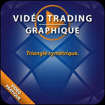 Vidéo Trading Triangle symétrique