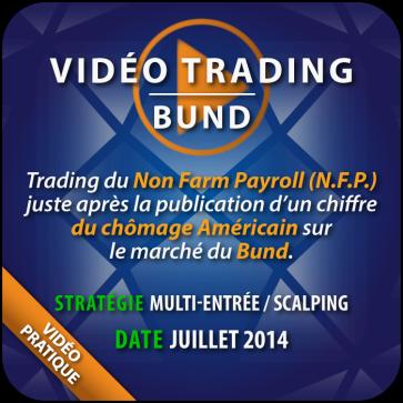 Vidéo Trading Bund Non Farm Payroll Juillet 2014