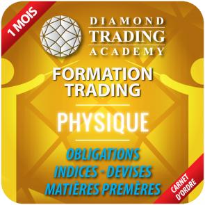 Formation Trading Physiques Carnet d'Ordre - Indices Obligations Devises Matières 1ère - 1 mois