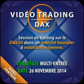 Vidéo Trading Dax 26 Nov 2014