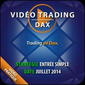 Vidéo Trading Dax Juillet 2014