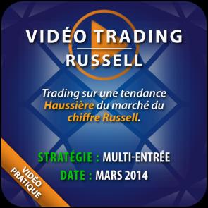 Vidéo Trading Russel marché haussier