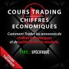 Cours Trading chiffres économiques
