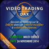Vidéo Trading Dax, Stratégie 1 et 2 entrées, Faible volatilité